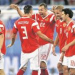 Russia moves to 2-o in World Cup