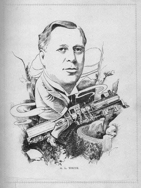 Arthur Lincoln White is pictured in this caricature from 1907. He was a businessman credited with many successful Lima ventures, including the Lima Locomotive Works, the Ohio Steel Foundry and the Logan-Gramm Truck Co.