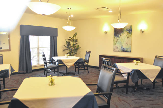 A private dining area at the Springs of Lima on 370 N. Eastown Road.