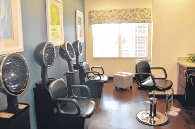 The salon at The Springs of Lima on 370 N. Eastown Road.
