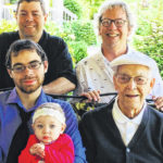 Five generations: Willoughby family