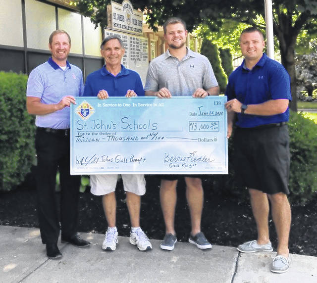 The 30th annual K of C/St. John's Golf Benefit on June 1 raised a record-breaking $15,000.