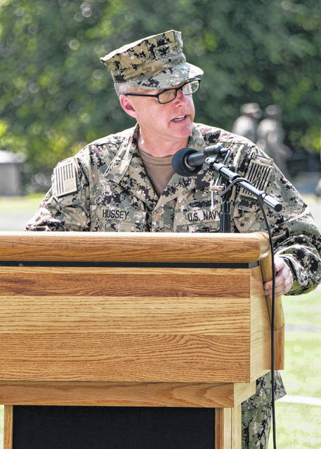 Lima native Navy Capt. Dr. Sean M. Hussey is the new Brigade Commander at the Uniformed Services University in Bethesda, Maryland.