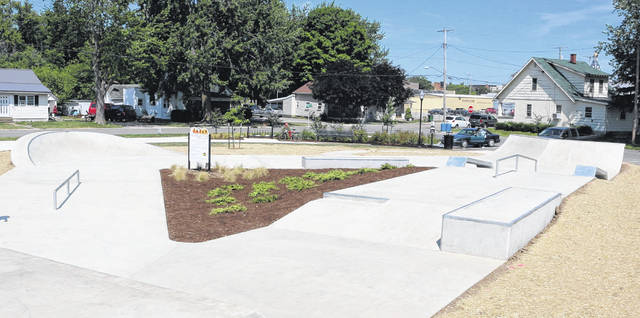 A skate park is now open at Franklin Park in Van Wert. The Tony Hawk Foundation provided a $5,000 grant to help make the skate park possible.