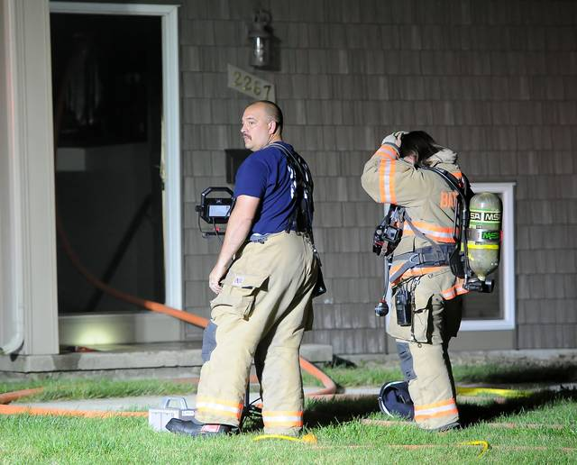 Bath Township, Perry Township and Lima firefighters responded to an apartment fire around 3:30 a.m. Tuesday at 2267 E. Elm St. The fire is under investigation.