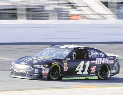 Kurt Busch comes out of Turn 4 during Friday qualifying for Sunday's NASCAR Cup Series race at New Hampshire Motor Speedway in Loudon, N.H. Busch won the pole.