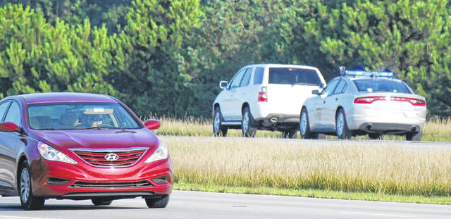 Troopers with the Ohio State Highway Patrol maintain a constant presence on area roadways in an attempt to keep motorists safe.