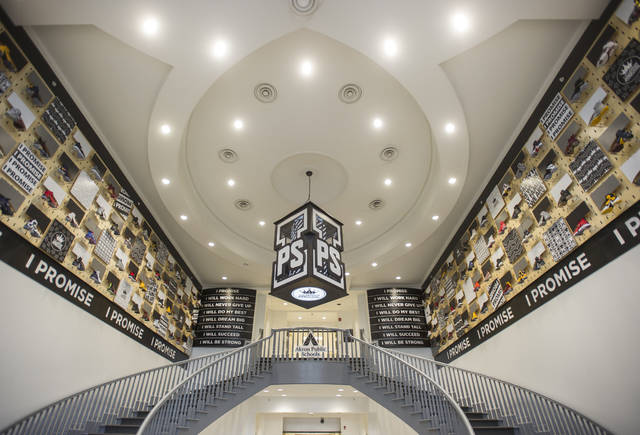 separation shoes 94b18 52960 The lobby of the I Promise School, a new Akron Public School funded by the