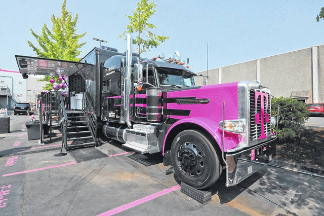 The first stop for T-Mobile's decked out semitruck is Philadelphia. The truck, an extension of the company's Tech Experience lab, showcases T-Mobile's ideas for the next generation of wireless connectivity, 5G, and how it envisions people and businesses making use of it.