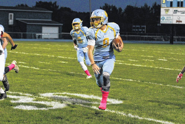 Bath's Zach Simpson is one of 16 returning letterwinners back for the Wildcats.