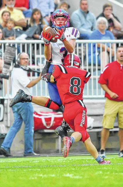 Crestview's Wade Sheets, an-all state receiver and defensive back, returns for his senior season.