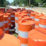 Chip seal causing traffic problems on Eastown Road Wednesday