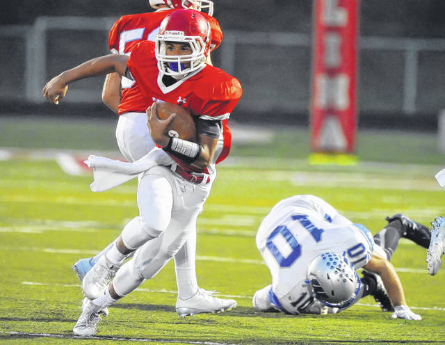 Lima Central Catholic's Shaun Thomas made an immediate impact for the Thunderbirds after rushing for more than 1,200 yards.