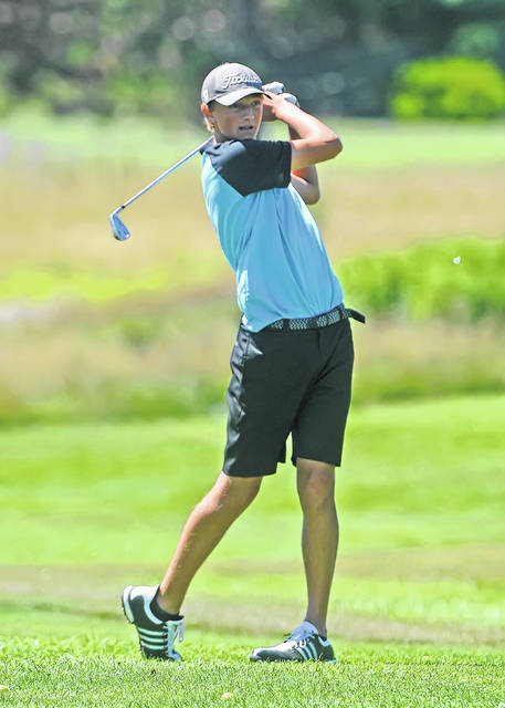 Kalida's Christian Nartker is back for his senior year after having the 16th best score in last year Division III state finals.