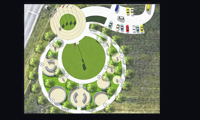 A rendering of a possibility for the Allen County War Memorial.