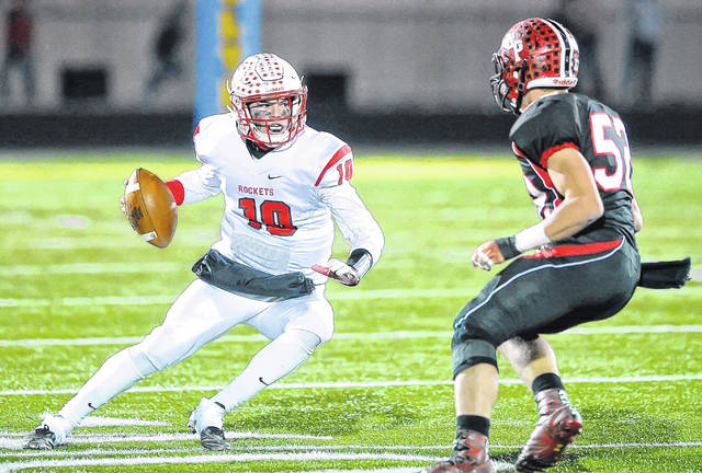 Pandora-Gilboa's Jared Breece put up impressive numbers last season and looks to have a repeat performance and carry the Rockets to the playoffs.