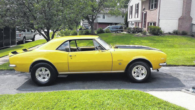 """Tony Taylor, of Dale City, Virginia, has named this 1967 Chevy Camaro """"The Money Pit."""""""