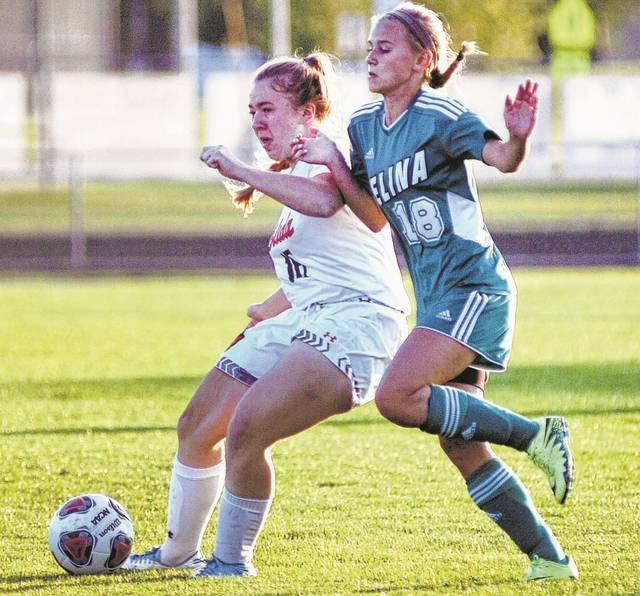 Elida's Micah Wassink, left, and Celina's Summer Kimmel are back this season. The Lima News file photo