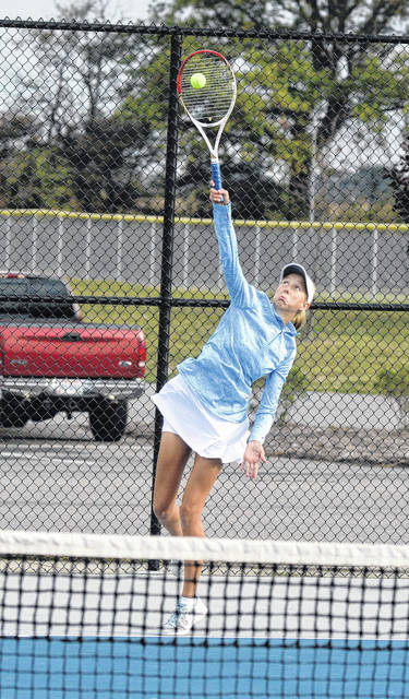Bath's Ruby Bolon was the Western Buckeye League third singles tournament champ in 2017 and then joined Esther Bolon in winning the the Division II sectonal doubles crown at UNOH.