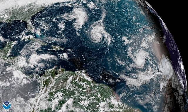 Tropical Storm Isaac, 9th named storm of season, forms in Atlantic