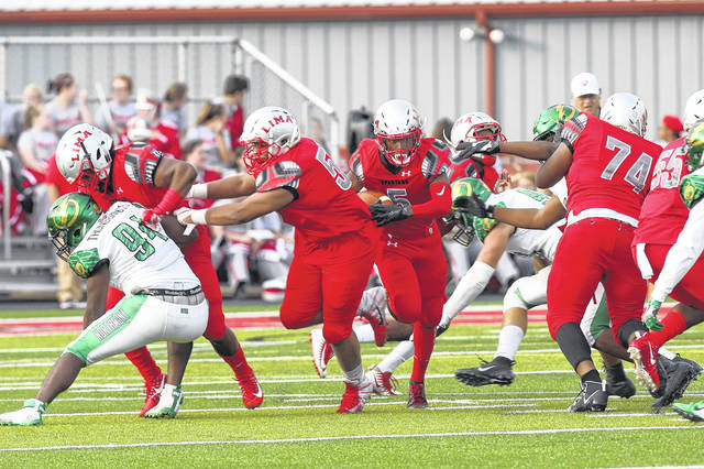 The Lima Senior offense has been making changes and adjustments during practice in hopes of scoring more points.