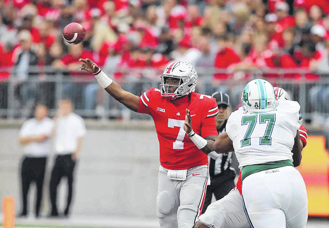 Ohio State rolls as expected against Tulane