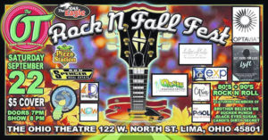 Rock in fall at The Ohio Theatre