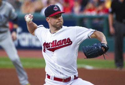 The Indians' Corey Kluber allowed two singles, struck out eight and walked two in seven innings Friday night against Tampa Bay Rays Cleveland. (AP photo)