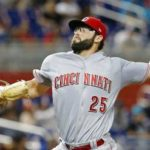 Reds' Reed gets first major league victory