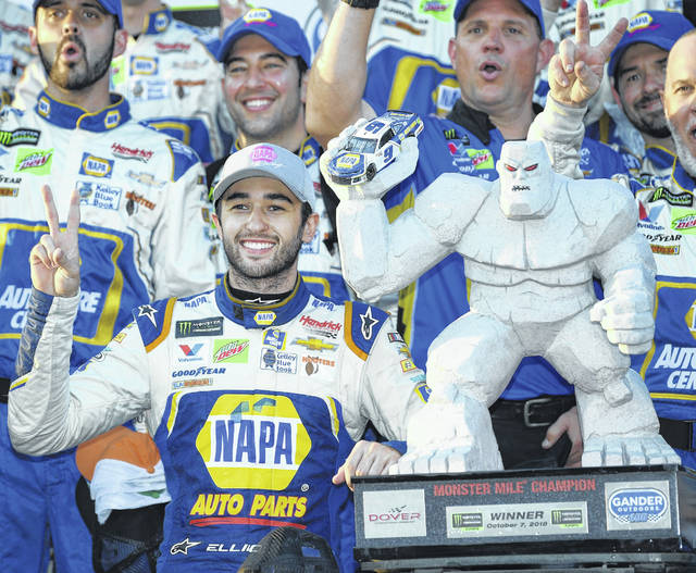 Elliott gets redemption from 2017, gets elusive Dover win - 47abc