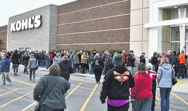 Shoppers Hungry For Black Friday Deals This Thanksgiving The Lima News
