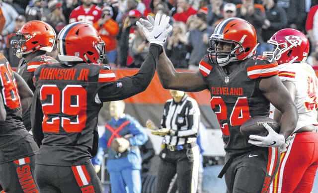 Chiefs Down Browns 37 21 The Lima News