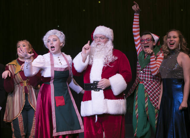 Onu Christmas Spectacular 2020 The ONU Holiday Spectacular' shows announced   The Lima News