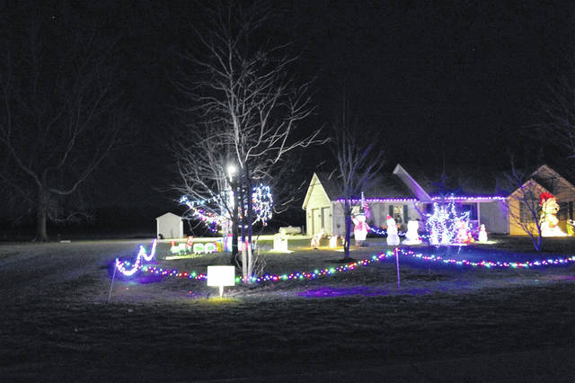 Griswold Christmas Lights.Electric Coop Christmas Light Winners Announced The Lima News
